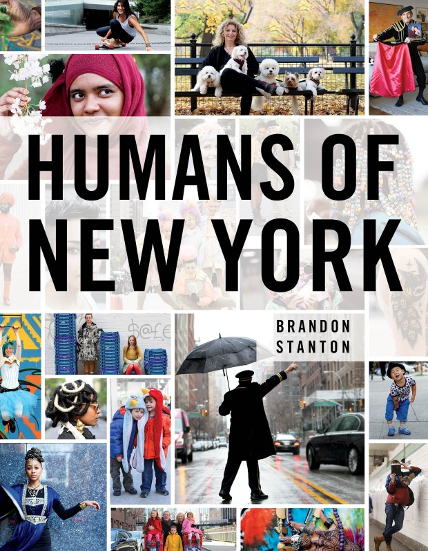 "Portada del libro ""Humans of New York"" (2013)"