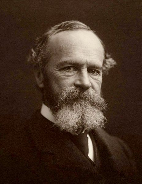 William James en 1903. Houghton Library, Harvard University.