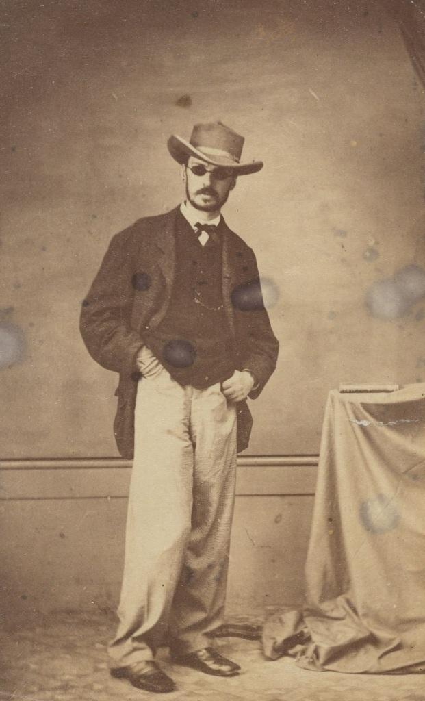 William James en Brasil después de un ataque de viruela en 1865. Houghton Library, Harvard University